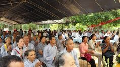 Thuê nhà bạt khởi công xây dựng lại ngôi Tam bảo Chùa Viên Thành