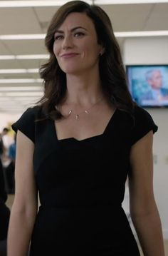 Discover exactly what clothes Maggie Siff is wearing. Maggie Siff, American Hustle, Work Wear, People, How To Wear, Clothes, Black, Dresses, Fashion