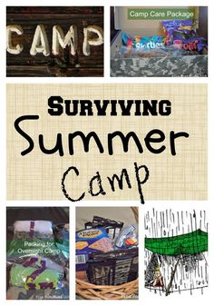 Summer Camp Preparation and Survival by coconutheadsurvivalguide.com