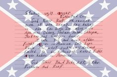 See The Vulgar, Violent Messages Racists Sent To S.C. Legislators Over Confederate Battle  Flag.  Now tell me about the 'pride' and 'heritage' these Southerns are celebrating with their 'Rebel Flag' (IMAGES)
