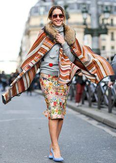 Trend alert: the blanket cape