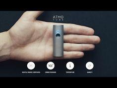 Mide la contaminación con Atmotube - http://www.actualidadgadget.com/mide-la-contaminacion-con-atmotube/
