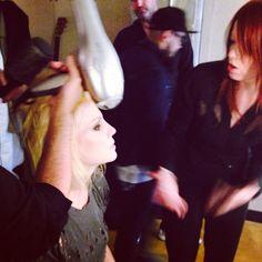 Brody Dalle & Shirley Manson #behindthescenes #garbage #brodydalle #makeup #hair #...   Use Instagram online! Websta is the Best Instagram Web Viewer!