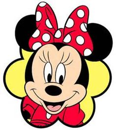 Free Download minnie mouse face clip art | homehow.net