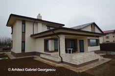 Proiect 36 | Casa cu etaj | Proiecte de case personalizate | Arhitect Gabriel Georgescu & Echipa Case, Home Fashion, Mansions, House Styles, Home Decor, Mansion Houses, Room Decor, Villas, Luxury Houses