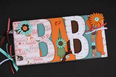 Baby scrapbook album Premade scrapbook baby by sandysscrapbooks, $39.00