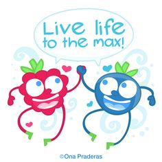 Live life to the max! #qotd #happy #positive #kids #ladywavedoodle http://www.onapraderas.com/live-life-to-the-max/