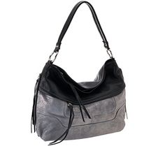 5d06c74a18d8 Supple leather lends this Aimee Kestenberg hobo an irresistible vintage  vibe. And not only does