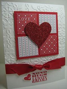 Hugs & Kisses XOXO card