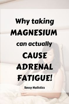 Balancing 3 of the Main Minerals: Magnesium, Sodium, and Potassium Magnesium in isolated supplements How Much Magnesium, Magnesium Benefits, Magnesium Deficiency Symptoms, Adrenal Fatigue Symptoms, Chronic Fatigue, Adrenal Glands, Chronic Migraines, Health And Nutrition, Fibromyalgia