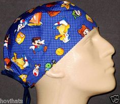 NEWLY LISTED MARIO 3D LAND SCRUB HAT IN MY STORE, HOVIHATS.COM