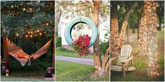 Easy backyard decorating ideas, coming right up!