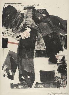 Robert Rauschenberg . front roll, 1964