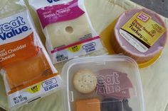 Homemade Lunchables-