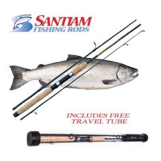 Santiam Fishing Rods Travel Rod 3 Piece 7' 8-17LB MF Graphite Spinning Rod Find out more about the great product at the image link.