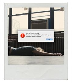 Graphic Designer Creates Computer Errors To Describe Every Emotion - Artist inserts computer error messages into human lives