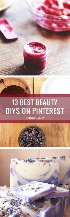 The 13 Best Beauty DIYs on Pinterest. This is an uh-mazing list.
