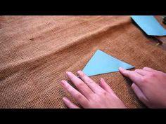 Filmpje: een slinger van mijters vouwen. Leuk bij het thema Sinterklaas!