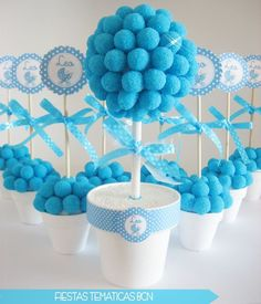 thank you gifts for baby shower Shower Party, Baby Shower Parties, Baby Boy Shower, Baby Shower Gifts, Baby Showers, Mesas Para Baby Shower, Bar A Bonbon, Sweet Trees, Chocolate Bouquet
