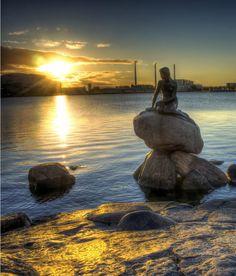 Meerjungfrau in Kopenhagen [Dänemark]