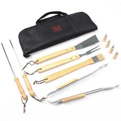 Personalized 11pc. BBQ Grill Set