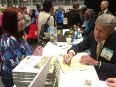 Author Richard Cerasani signing books at #BEA14. Invite him to your book club!