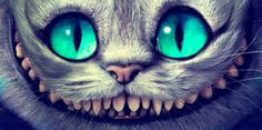 Cheshire Cat -- Tim Burton style Indirectly disney..