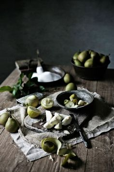 Doce de pêra e limão # Pear and lemon jam