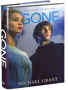 Gone Series by Michael Grant ( I want these books with these type of covers, with the characters on, so badly!)