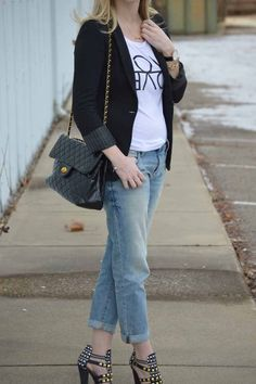 Style in a Small Town | Styled Two Ways: Black Blazer | http://www.styleinasmalltown.com