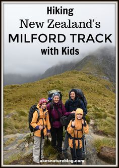 milford track with kids