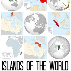 Island Geography: Lessons Plans and Largest Islands in the World