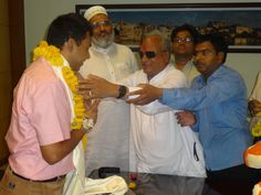 Met with #udaipur new #collector Mr. Rohit Gupta, honored and congratulated him. www.narayansevauk.org