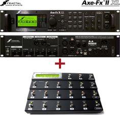 Fractal Audio Axe-Fx II XL + MFC-101 controller (Mark III) bundle