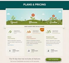 25 beautiful examples of pricing tables on websites