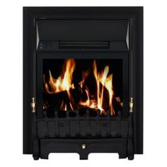 Focal Point Blenheim Black LED Electric Fire, 5023539012370