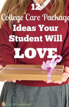 12 awesome college care package ideas your student will LOVE!