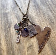 Personalized Mommy Necklace by SixDesignsJewelry on Etsy