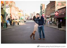 candace + adam: promised. a downtown memphis engagement. | memphis wedding photography by amy hutchinson photography /// #memphis #wedding #photography