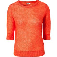 Filippa K Light Mohair Pullover ($195) ❤ liked on Polyvore