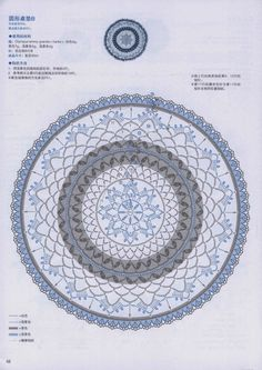 ergahandmade: Crochet doilies With Flowers + Diagrams + Pattern Step By Step