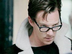 December 2014 Elle UK photo shoot. #Cumberbatch