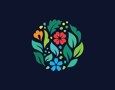 Logo design inspiration, icon design, web design, typography logo, logo b. Logos, Typography Logo, Logo Branding, Branding Design, Gfx Design, Icon Design, Flower Power, Earth Logo, Design Brochure