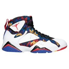the best attitude 10c84 85f99 Men s Air Jordan Retro 7 Basketball Shoes Jordan Retro 7, Hombres Con  Zapatos Blancos,