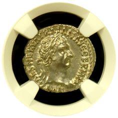 Trajan Silver Denarius NGC Mint State Star