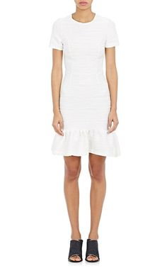 Pin for Later: This 1920s-Inspired Trend Is Making a Comeback — Just in Time For Sundress Season  Opening Ceremony Women's Lotus Ruffled-Hem Dress — White ($395)
