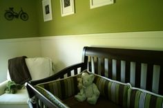 Neutral baby nursery design. baby-boy-room-ideas