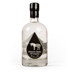 This gin liqueur contains real Unicorn tears. Created by Firebox in a secret location, using our free range Unicorn herd and closely-guarded extraction process Unicorn Tears Gin, Real Unicorn, Christmas Gift Guide, Christmas Gifts, Christmas 2015, Weeks Until Christmas, Secret Location, Best Gifts For Her, Little Black Books