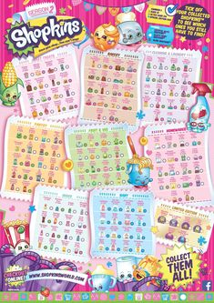 Shopkins Season 2 Collectors Guide Checklist
