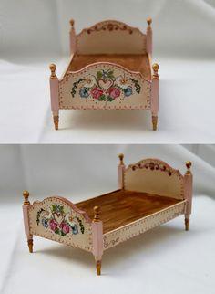 Bed~Miniatures by Lola del Villar